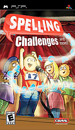 Spelling Challenges and More! PSP