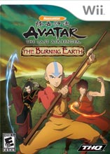 Avatar: The Burning Earth Wii
