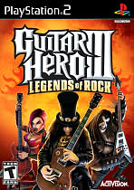 Guitar Hero III: Legends of Rock PS2