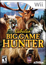 Cabela's Big Game Hunter 2008 Wii