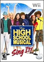 High School Musical: Sing It Wii