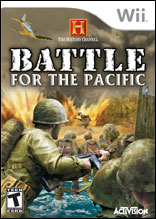 The History Channel: Battle for the Pacific Wii