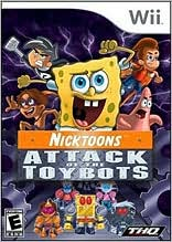 Nicktoons: Attack of the Toybots Wii