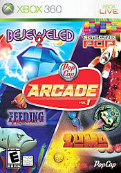 Pop Cap Arcade Vol. 1 Xbox 360