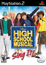 High School Musical: Sing It PS2
