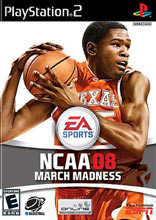 NCAA March Madness 08 PS2
