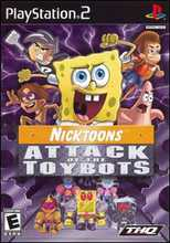 Nicktoons: Attack of the Toybots PS2