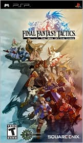 Final Fantasy Tactics: War of the Lions PSP