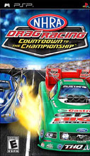 NHRA Drag Racing: Countdown to the Championship PSP