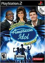 Karaoke Revolution Presents: American Idol Encore PS2