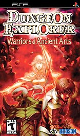 Dungeon Explorer: Warrior of the Ancient Arts PSP