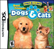 Paws & Claws: Dogs & Cats Best Friends DS