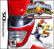 Power Rangers Super Legends 15th Anniversary DS
