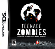 Teenage Zombies: Invasion of the Alien Brain Thingys! DS