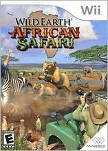 Wild Earth: African Safari Wii