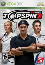 Top Spin 3 for Xbox 360 last updated Jan 21, 2009