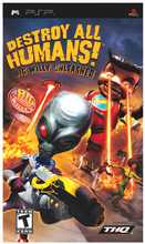 Destroy All Humans! Big Willy Unleashed PSP