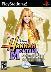 Hannah Montana: Spotlight World Tour PS2