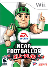 NCAA Football 09 All-Play for Wii last updated Apr 17, 2009