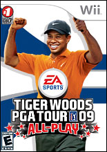 Tiger Woods PGA Tour 09 All-Play Wii