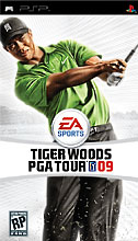 Tiger Woods PGA Tour 09 PSP