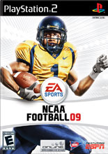 NCAA Football 09 PS2