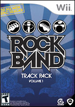 Rock Band Track Pack Vol 1 Wii
