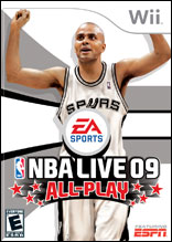 NBA Live 09 All-Play Wii