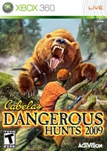 Cabela's Dangerous Hunts 2009 Xbox 360
