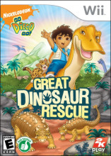 Go, Diego, Go!: Great Dinosaur Rescue Wii