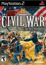 History Channel, The Civil War: Secret Missions for PlayStation 2 last updated Sep 06, 2011