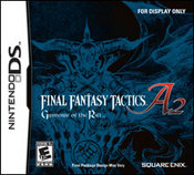Final Fantasy Tactics A2: Grimoire of the Rift for Nintendo DS last updated Dec 25, 2009