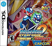 Mega Man Star Force 2: Zerker x Saurian DS