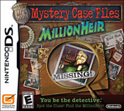 Mystery Case Files: Million Heir for Nintendo DS last updated May 21, 2009