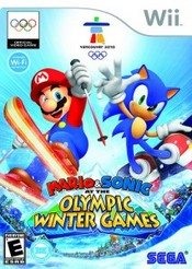 Mario & Sonic at the Winter Olympic Games Wii