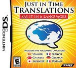 Just in Time Translations DS