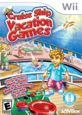 Cruise Ship Vacation Games Wii