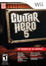 Guitar Hero 5 for Wii last updated Sep 09, 2009