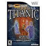 Hidden Mysteries: Titanic Secrets of the Fateful Voyage Wii