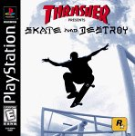 Thrasher: Skate And Destroy PSX