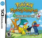 Pokemon Mystery Dungeon: Explorers of Sky DS