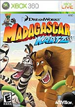 Mad Karts of Madagascar Xbox 360