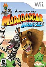 Mad Karts of Madagascar Wii