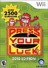 Press Your Luck 2010 Edition Wii