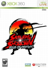 Samurai Shodown: Edge of Destiny Xbox 360