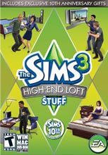 The Sims 3: High-End Loft Stuff PC