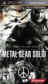Metal Gear Solid: Peace Walker for PSP last updated Jan 04, 2011