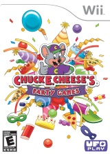 Chuck E. Cheese's Party Games Wii