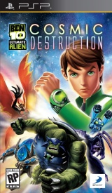 Ben 10: Ultimate Alien Cosmic Destruction PSP