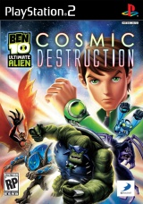 Ben 10: Ultimate Alien Cosmic Destruction PS2